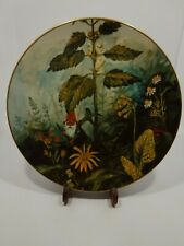 Gnome de Bloom Fairmont Rein Poortvliet Hand Painted Signed Plate #891/1980