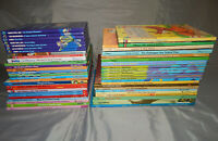 50 HARDCOVER kids picture books ALL DISNEY bulk lot modern & vintage donald duck