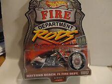 Hot Wheels Fire Department Rods Daytona Beach FL. Scorchin Scooter