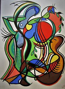 Johannes Richter (*1916) Dresden, monogrammiert,Komposition, DDR Kunst 1986 R