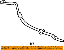 FORD OEM-Power Steering Pressure Hose 3F2Z3A719AA
