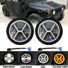 7'' LED Headlight For Hummer M998 M923 M35a2 24v Humvee Military Truck Headlamp