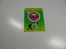 1990 Fleer Baseball Logo Stickers Houston Astros Baseball Quiz on back
