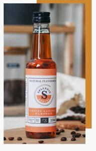 Splendid Syrups 250ML Toffee Caramel Flavour for Coffee Milkshakes Smoothies