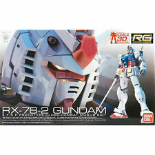 Bandai Hobby RG Gundam RX-78-2 1/144 Scale Action Figure Model Kit Real Grade