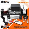 X-BULL Electric Winch 13000LBS 12V 4WD Recovery Winch Steel CableTowing truck