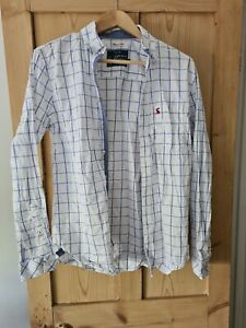 MENS JOULES CHECKED SHIRT. SIZE SMALL. CLASSIC FIT