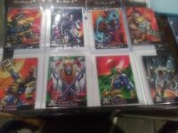 1995 Fleer Ultra X-Men All Chromium Alternate X Embossed Lot Of 8 Not Mint