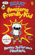 Diary of an Awesome Friendly Kid Rowley Jefferson's Journal  Paperback