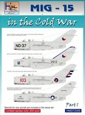 h-models ADHESIVOS 1/72 mig-15 In The Cold GUERRA PARTE 1 #72006