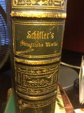 Schiller's Complete Works German 1862 #5=6