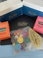 Trivial Pursuit Master Game Genus Edition 1981 Vintage Genius + Flicks Rock Pop