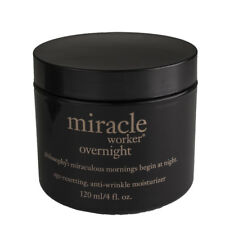 Philosophy Miracle Worker Overnight Age-Reseting, Anti-Wrinkle Moisturizer, 4oz