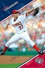 STEPHEN STRASBURG ~ WINDUP 22x34 POSTER Washington Nationals MLB Baseball