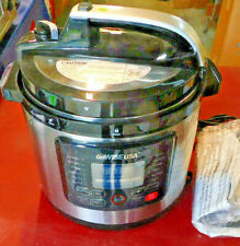12.5 qt. Stainless Steel Electric Pressure with Ceramic Pot GoWise USA Cooker