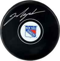 Mark Messier New York Rangers Autographed Hockey Puck - Fanatics