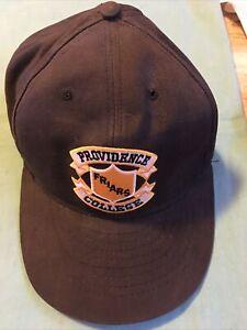Vintage Providence College Friars Black Snapback Hat Adjustable