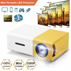 New ListingEeekit 600lm Mini Portable Led Projector - White/Yellow (616361728493)