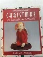 1996 House of Lloyd Christmas Around the World Pajama Angel Figurine #542311