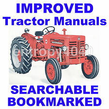 IH B-275 B275 Tractor ENGINE, BRAKES, PTO REPAIR SERVICE MANUAL -12- MANUALS SET