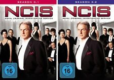 7 DVDs * NCIS - SEASON / STAFFEL 3  ( 3.1 - 3.2 ) IM SET ~ NAVY # NEU OVP +