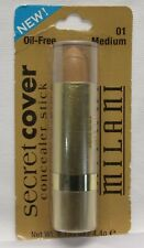 Milani Secret Cover Concealer Stick - 01 Medium Oil Free New