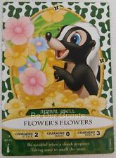 Disney Sorcerers of the Magic Kingdom Card 45 Flower's Flowers New