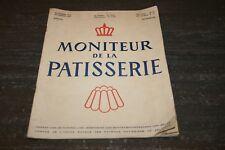 MONITEUR DE LA PATISSERIE 1951.