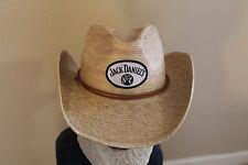 Jack Daniels Cowboy Hat - Straw Hat/wicker
