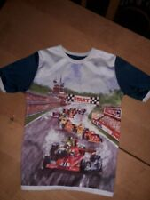 Vintage - 1970's - Racing cars - St Michael Polyester Children's Top