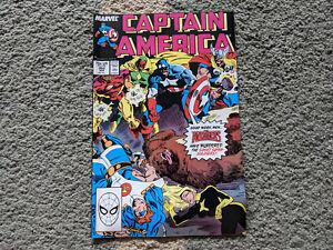 Captain America 352 Marvel Comics