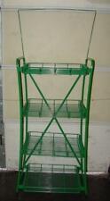 Paul Flum Ideas Wr07-3128-Grn 4 Shelf Rack W/ Display 77904