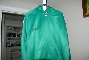 RARE Dale Earnhardt Jr. ADIDAS Climawarm HOODIE Sweatshirt Jacket NASCAR Mens XL