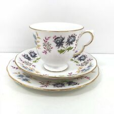 Vintage Queen Anne Fine Bone China Trio Cup Saucer Tea Plate F 96 0 A738