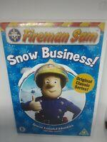 Fireman Sam - Snow Business (DVD, 2006) Extended Christmas Episode