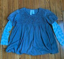 Matilda Jane Gray Tunic Shirt Girls Size 6