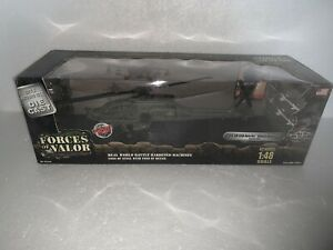 Forces of Valor, 1:48 Scale, U.S. AH-64A Apache Attack Helicopter, Item#80008