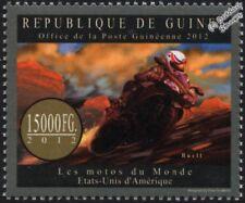 BUELL (Harley Davidson) Motorcycle/Motorbike Stamp (2012 Guinea)