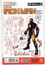 IRON MAN # 1 VARIANT 2013 NM