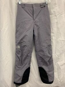 THE NORTH FACE YOUTH GRAY SKI PANTS..SZ LARGE