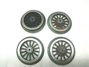 "4 Original  Lionel  Wheels  for Standard Gauge  Engines with 2-3/4"" drivers"