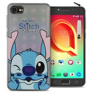 "Silikon TPU Handy Schutzhülle Cartoon Disney Alcatel A5 LED 5.2"""