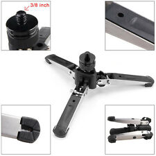 "Pro 3/8""Screw 3 Legs Support Stamd Monopod Tripod Base for DSLR Camera Camcorder"
