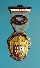 Royal Masonic Steward Enamel  Jewel -1952 Institution For Boys. Lancashire.