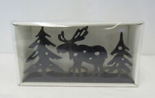 New Candle Gifts Moose Tealight Candle Holder With 3 Ivory Unscented Candles