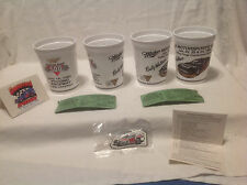 VALLEY FORGE CONVENTION CTR MILLER MOTORSPORT 93 SOUVENIR CUPS/TICKETS/GRANDVIEW