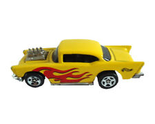 Hot Wheels 57 Chevy 1957 Flame Racer Diecast Chevrolet Car 1976 Mattel 1970s