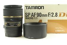 Tamron 90mm F2.8 Sp Macro 1:1 Di Completo Marco Sony Alpha / Minolta -bb 725
