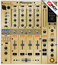 Pioneer DJM-800 Skin Brushed Gold