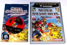 "GAMECUBE jeu ""Super Smash Bros. Melee"" complet"